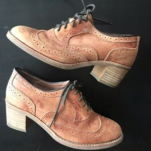 Jeffrey Campbell for Free People Oxford Chunk Heel